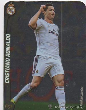 632.- CRISTIANO RONALDO -BRILLO LISO- (R. MADRID) QUIZ GAME