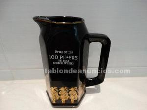 Jarra de whisky 100 pipers