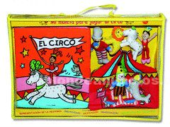 Vendo maleta para jugar al circo