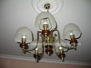 Vendo lámpara dormitorio + 2 lámparas de mesilla.