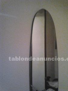 Espejo ovalado grande ofrece precio