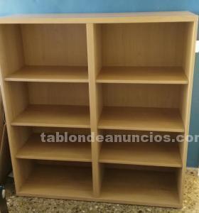 Estantería librería renovación de dormitorio