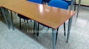 Tablones de mesa y sus patas
