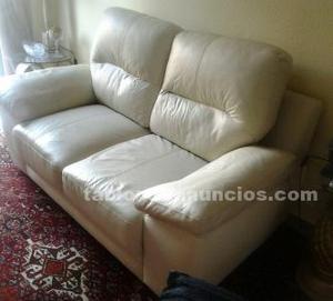 Vendo sofa de piel