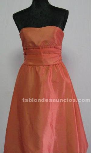 Vestido rosa de fiesta