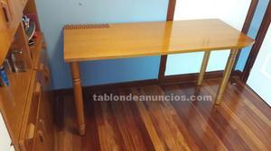 Escritorio + mueble nido 2 camas + cabezal + mesilla +