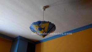 Disney lampara infantil mapa mundi alicante posot class - Lamparas infantiles valencia ...