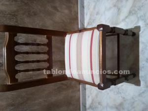 Vendo conjunto de seis sillas