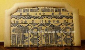 Cabecero de cama tapizado 135