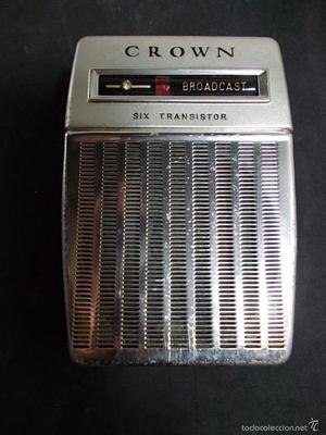 RADIO DE LA MARCA CROWN CON FUNDA ORIGINAL