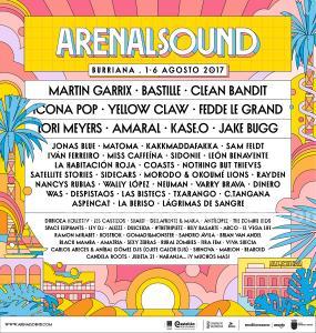 2 entradas arenal sound