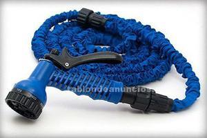 Manguera extensible 15m azul