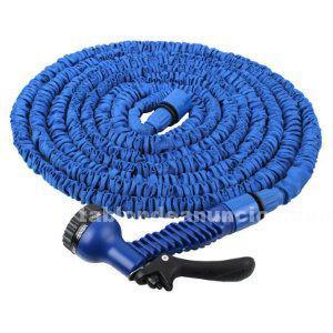 Manguera extensible 23m azul