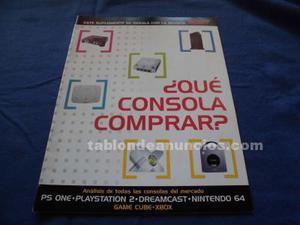 Suplemento que consola comprar hobby consolas en muy buen