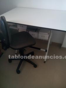Vendo mesa de arquitecto y silla