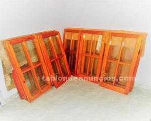 Ventanas y puertas de madera posot class for Baneras antiguas baratas
