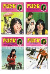 Lote 4 libros puck de lisbeth werner (ediciones toray)