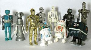 Vendo figuritass y naves de star wars vintage marca kenner