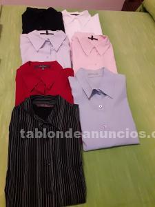 Vendo lote de 7 camisas mujer t/l