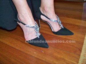 Venta de vestido de fiesta, zapatos y bolso