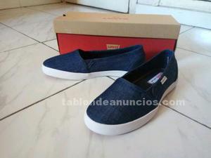 Zapatillas slip levi's navy blue nº 37