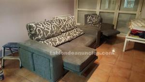 Sofa 3 plazas + sillon reclinable