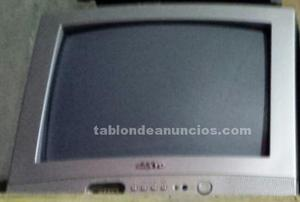 Televisión color sanyo