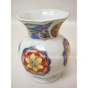 Violetero de porcelana