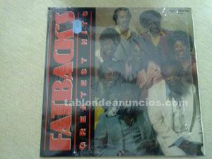 Disco vinilo fat backs greatest hits ocasion 33r