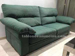 Vendo sofá tres plazas estado muy cuidado