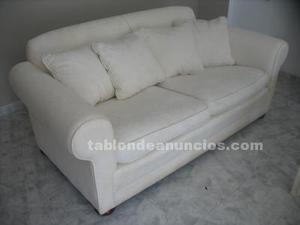 Sofas xale beige de la oca posot class for Vendo sofa cama 2 plazas