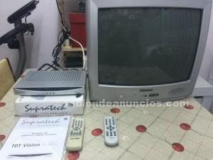 """Vendo television 20"""" y tdt"""