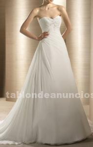 Precioso vestido traje de novia atelier. Muy barato !!.