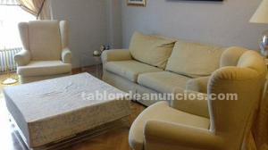 Sofá y sillones a juego