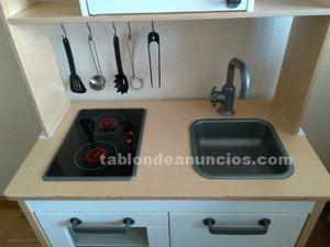 Cocina ikea juguete posot class for Cocinitas de juguete segunda mano