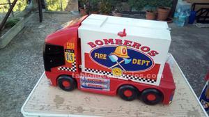 Juguete camion bomberos