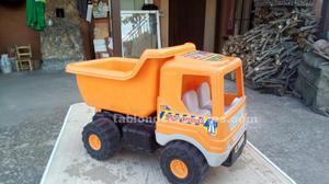 Juguete camion de construccion