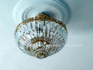 Lámpara cristal para dormitorio