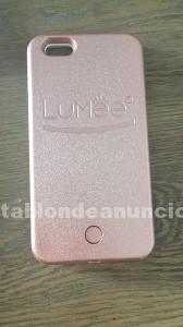 Carcasa con iluminación - iphone 6/6s + -rose gold