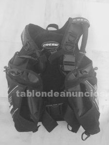 Cressi carbon bcd/chaleco/jacket
