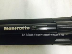 Manfrotto tripode 190xb + rótula 804rc2