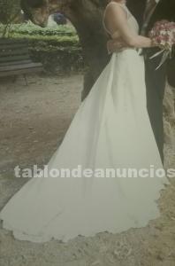 Vendo traje de novia marca jesús peiró