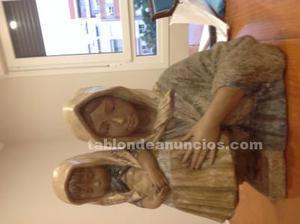 Figura antigua de porcelana de lladró