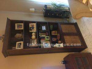 Mueble libreria de salon