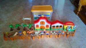 Granja de animales de juguete
