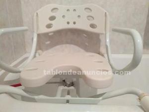 Asiento giratorio para bañera de aluminio