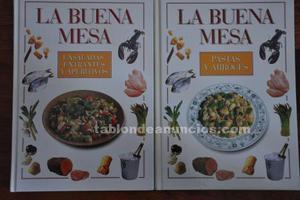 Libros de cocina, la buena mesa.