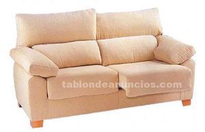 Sofá 3 plazas extraíble y reclinable