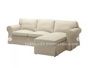 Vendo sofa chaislong nuevo por cambio de domicilio