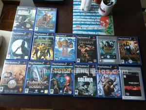 Lote juegos de playstation 2